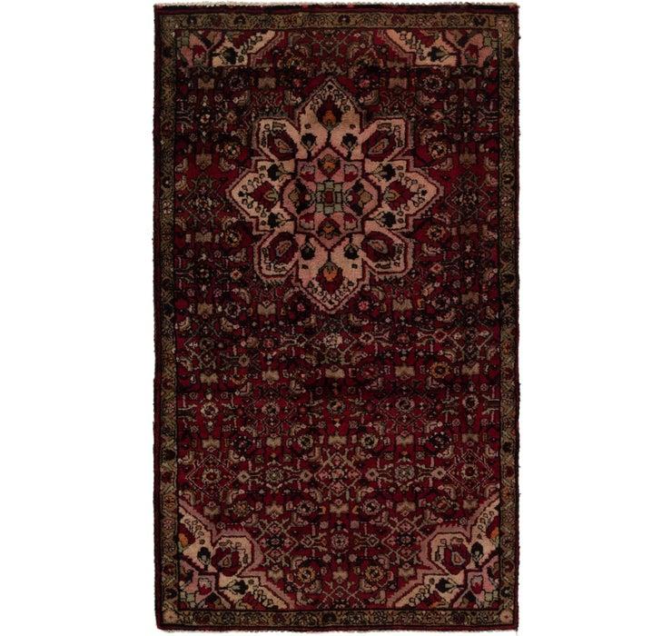 117cm x 203cm Hossainabad Persian Rug