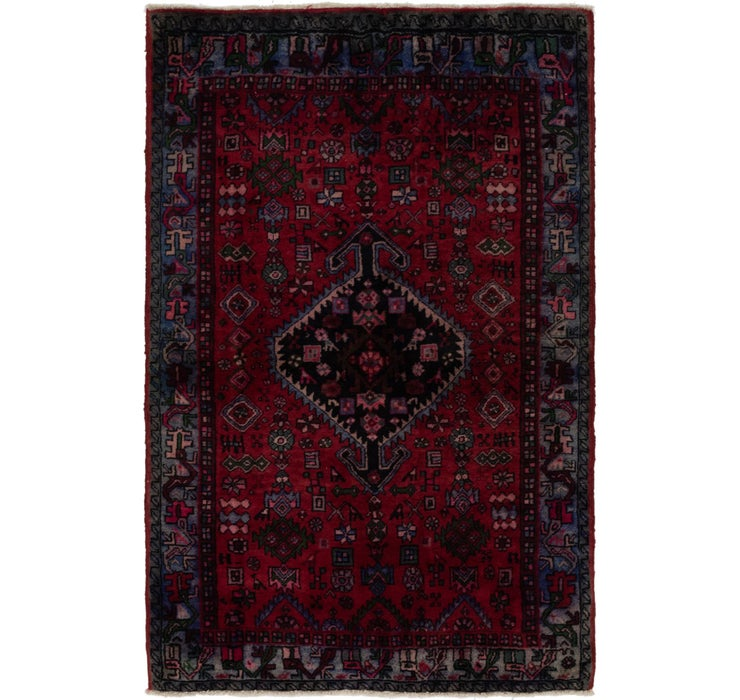 127cm x 195cm Gholtogh Persian Rug