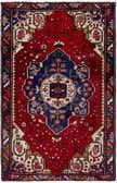 4' 2 x 6' 5 Hamedan Persian Rug thumbnail