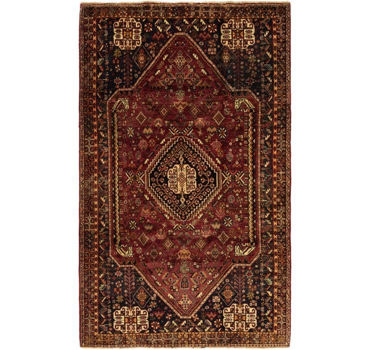 5' 2 x 8' 8 Ghashghaei Persian Rug
