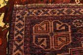 3' 4 x 5' 3 Ghashghaei Persian Rug thumbnail