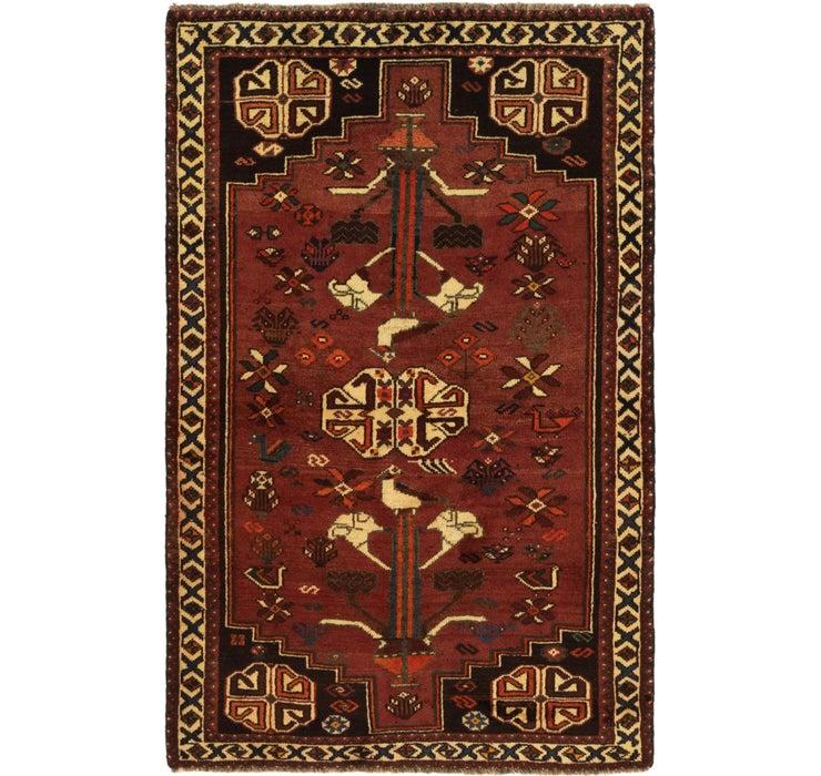 102cm x 160cm Ghashghaei Persian Rug