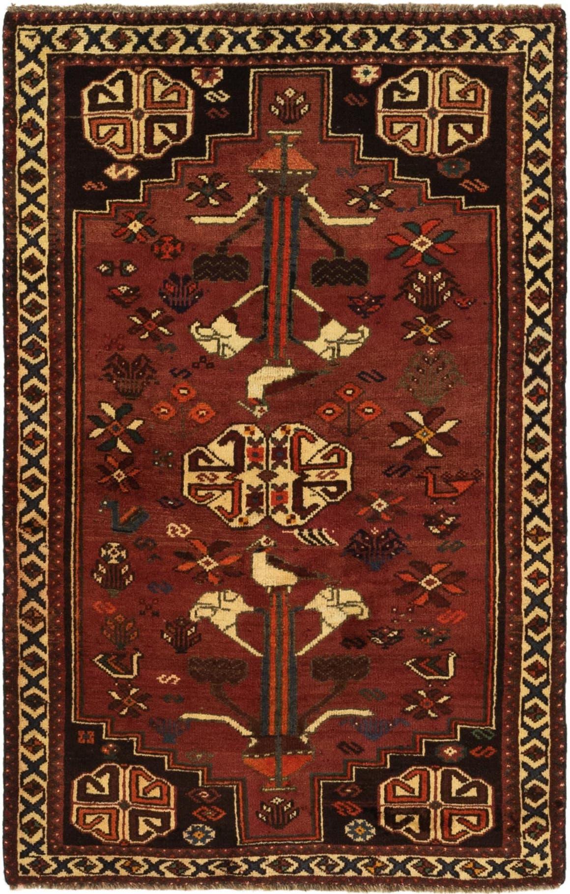 3' 4 x 5' 3 Ghashghaei Persian Rug main image