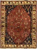 4' x 5' 2 Ghashghaei Persian Rug thumbnail
