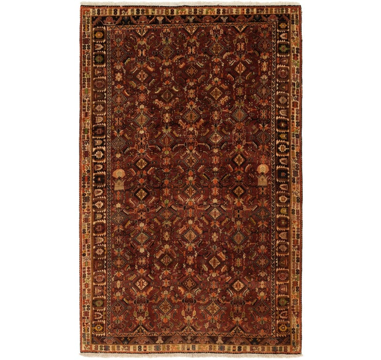 157cm x 250cm Ghashghaei Persian Rug