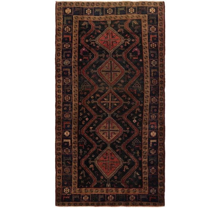 5' x 10' 2 Chenar Persian Runner Rug
