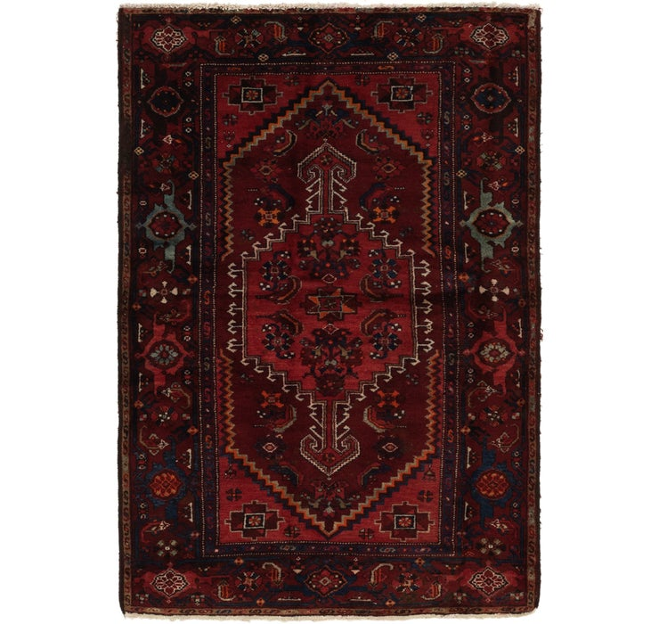4' 3 x 6' 7 Zanjan Persian Rug