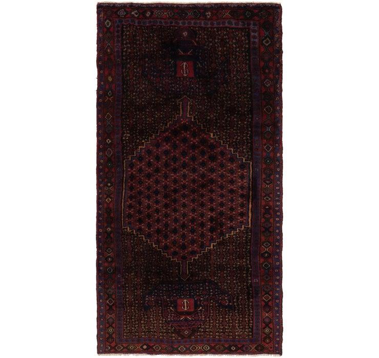 130cm x 262cm Zanjan Persian Runner Rug