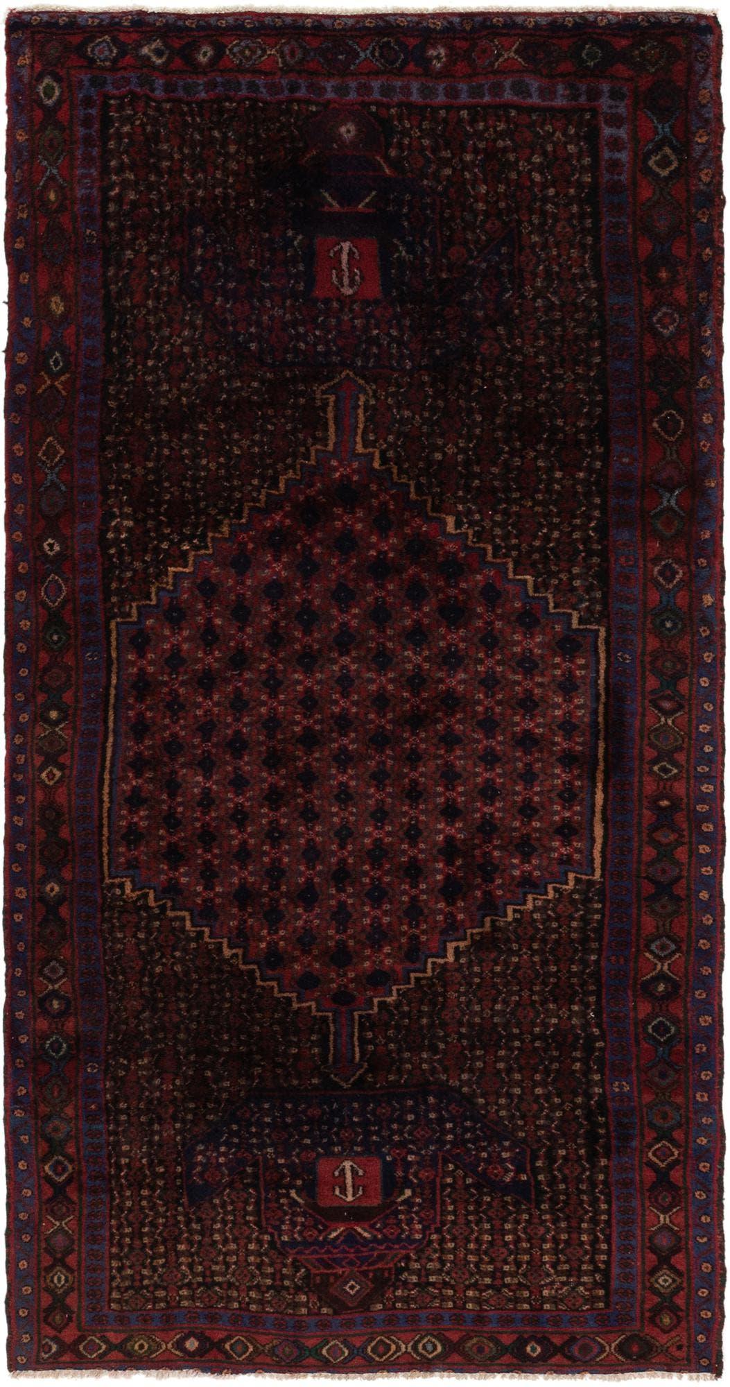 4' 3 x 8' 7 Zanjan Persian Runner Rug main image
