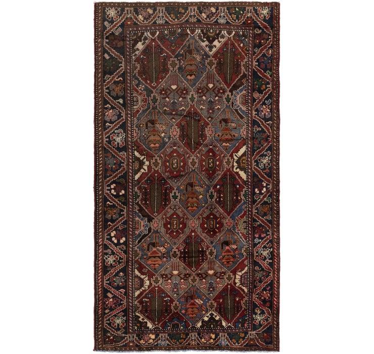 157cm x 305cm Shahsavand Persian Runn...