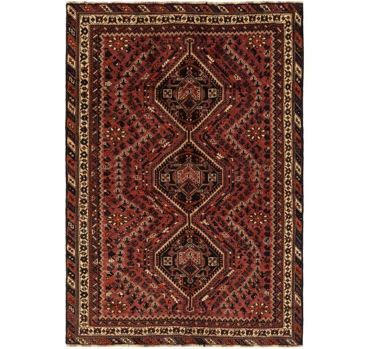 195cm x 285cm Ghashghaei Persian Rug