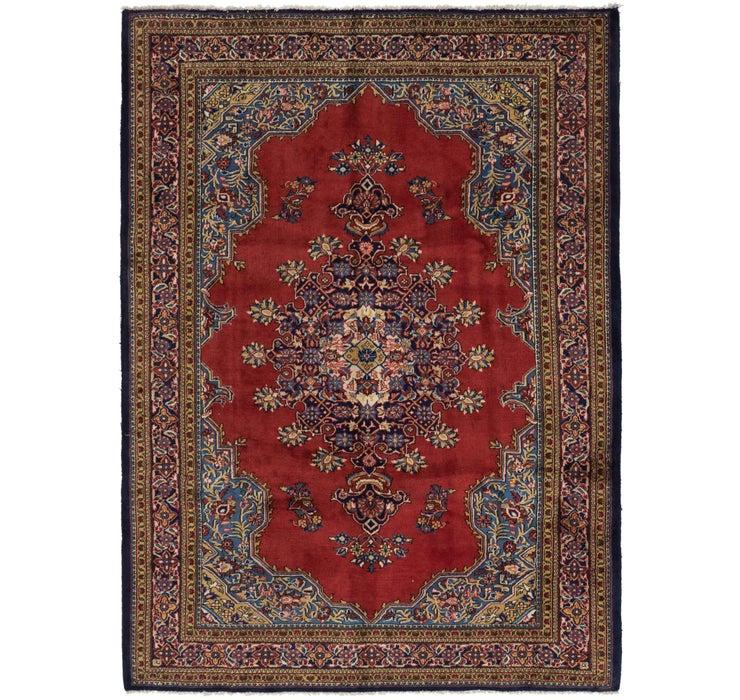 218cm x 305cm Golpayegan Persian Rug