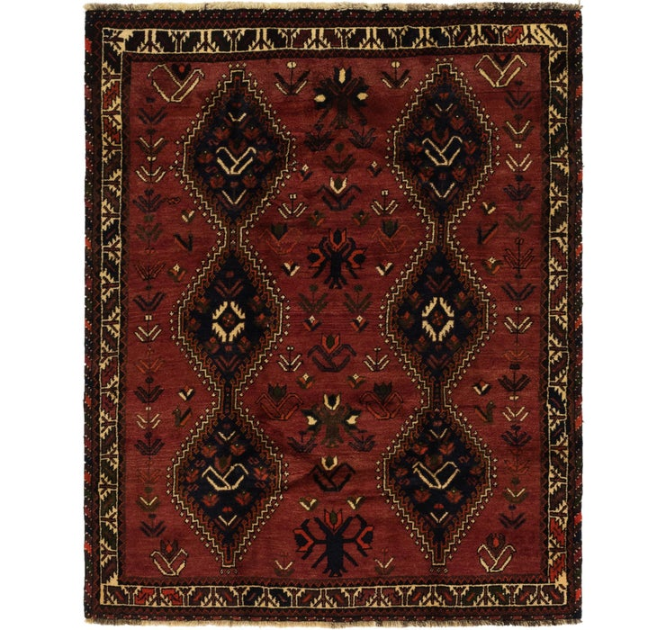 165cm x 205cm Ghashghaei Persian Rug