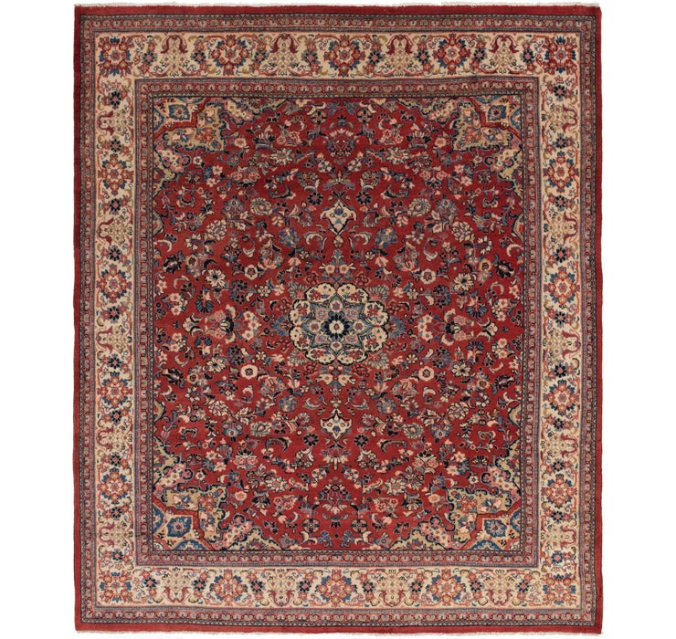 305cm x 378cm Sarough Persian Rug