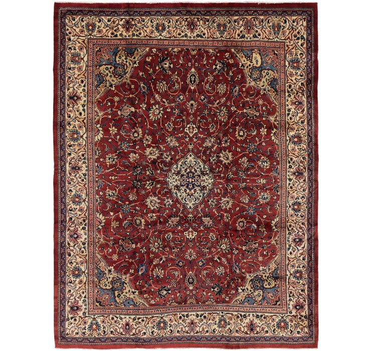 297cm x 390cm Sarough Persian Rug