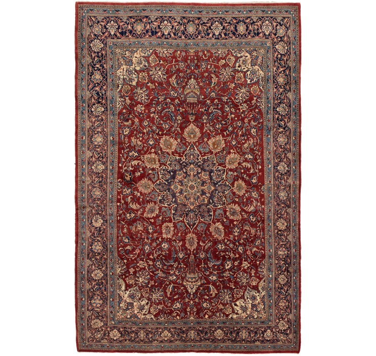 8' 6 x 13' 4 Sarough Persian Rug