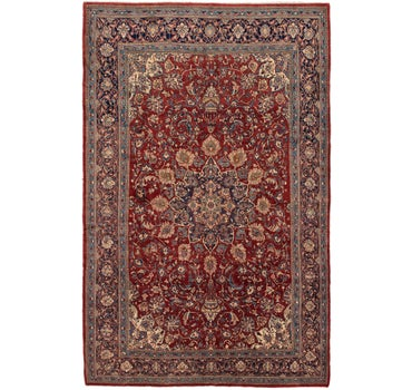 8' 6 x 13' 4 Sarough Persian Rug main image