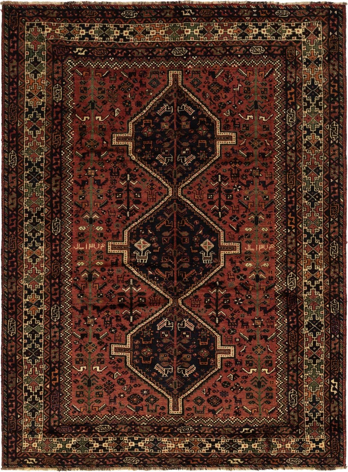 7' x 9' 10 Ghashghaei Persian Rug main image