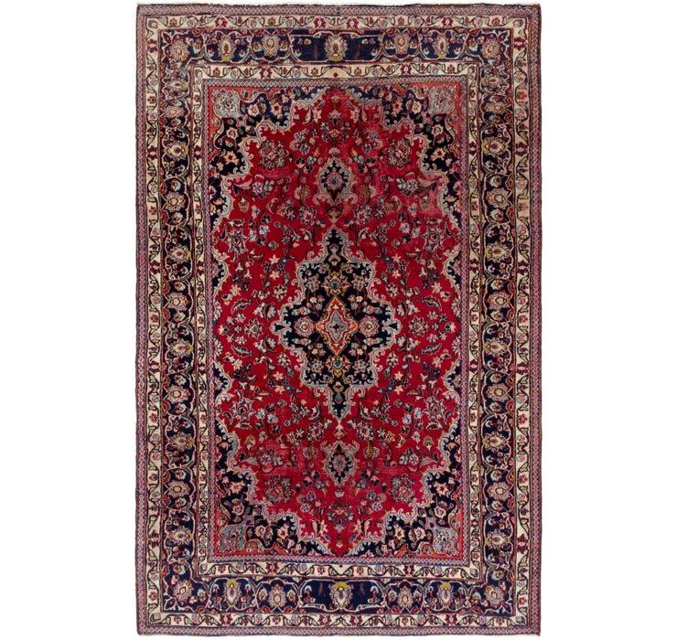 183cm x 287cm Kashan Persian Rug