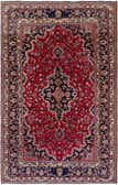 6' x 9' 5 Kashan Persian Rug thumbnail