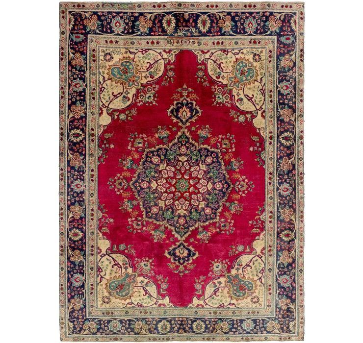 7' 7 x 10' 8 Tabriz Persian Rug