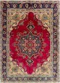 7' 7 x 10' 8 Tabriz Persian Rug thumbnail