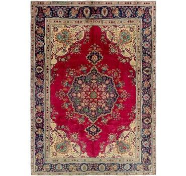 7' 7 x 10' 8 Tabriz Persian Rug main image