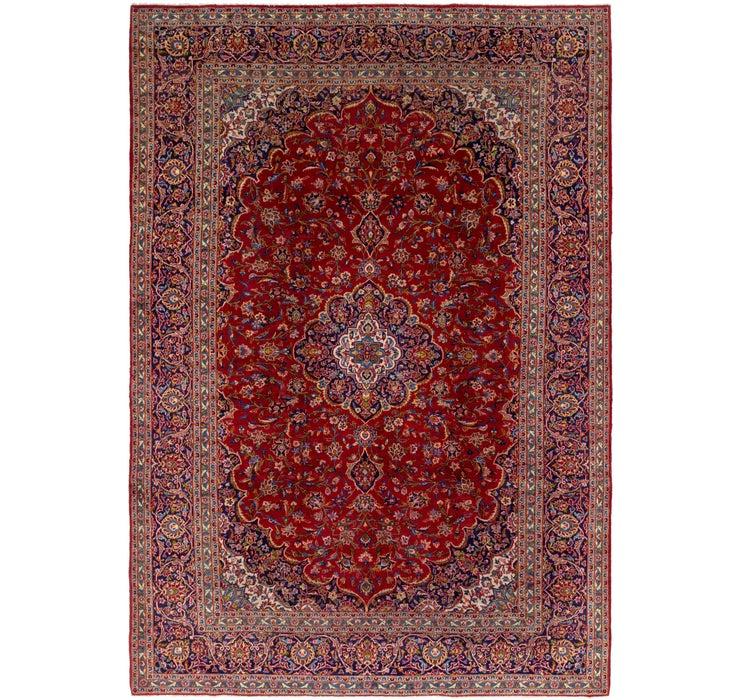 292cm x 420cm Kashan Persian Rug