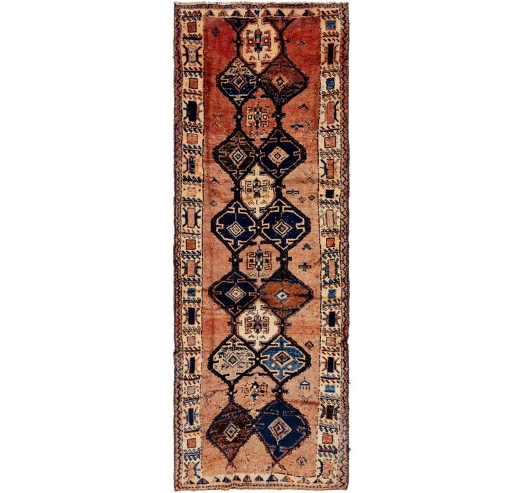 130cm x 385cm Shiraz Persian Runner Rug