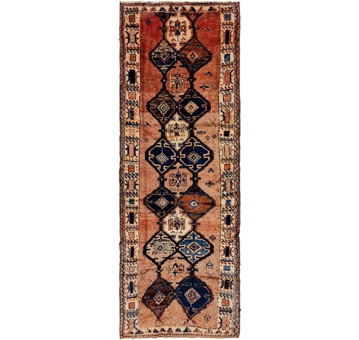 130cm x 385cm Shiraz Persian Runner Rug