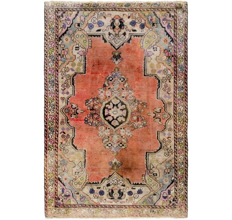 4' 2 x 6' 5 Farahan Persian Rug