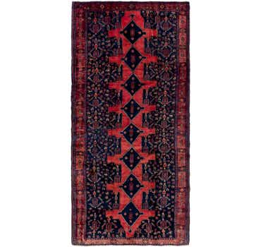 Image of 5' 3 x 11' 3 Sanandaj Persian Runner...
