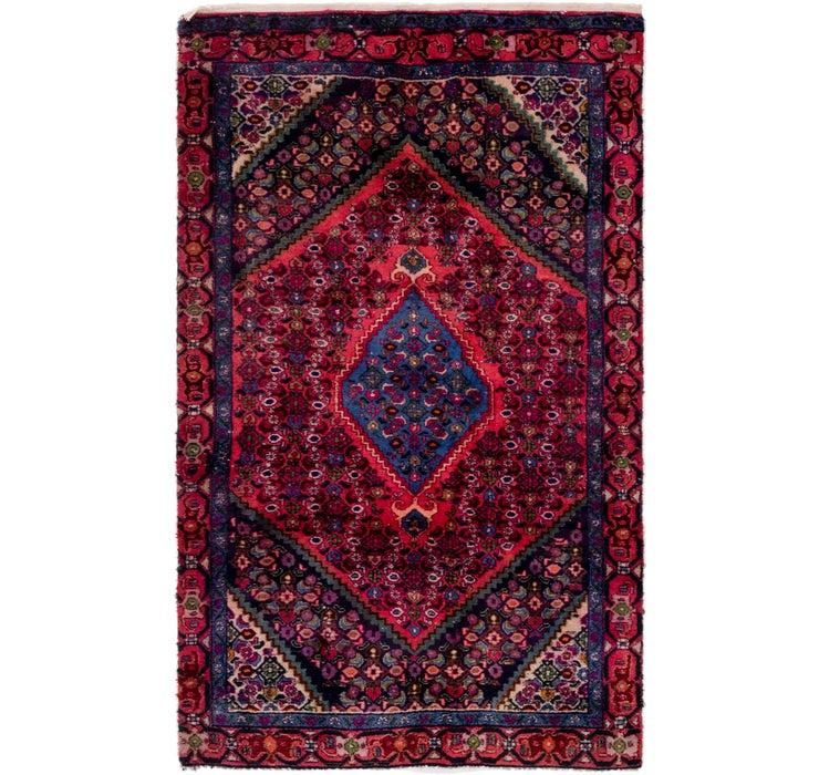 4' x 6' 6 Bidjar Persian Rug
