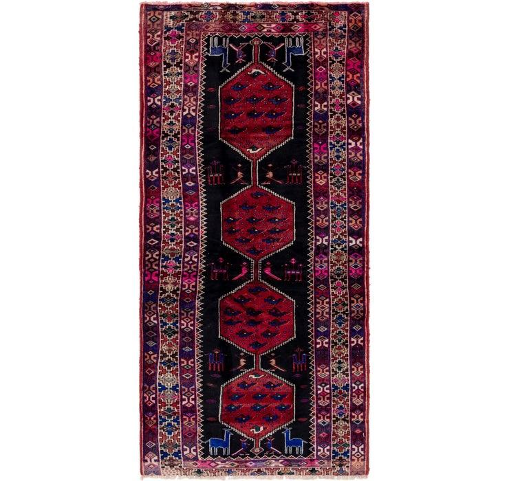 140cm x 305cm Shiraz Persian Runner Rug
