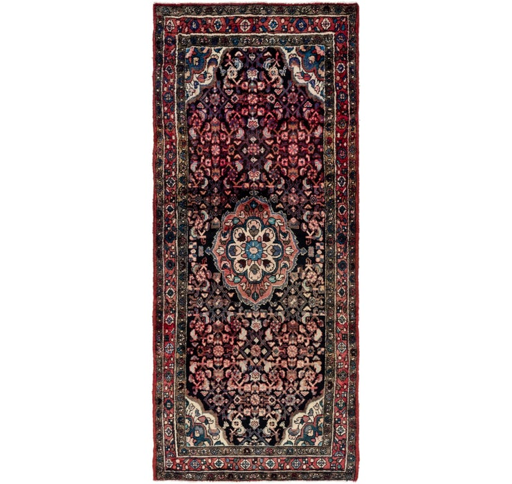 122cm x 292cm Hossainabad Persian Run...