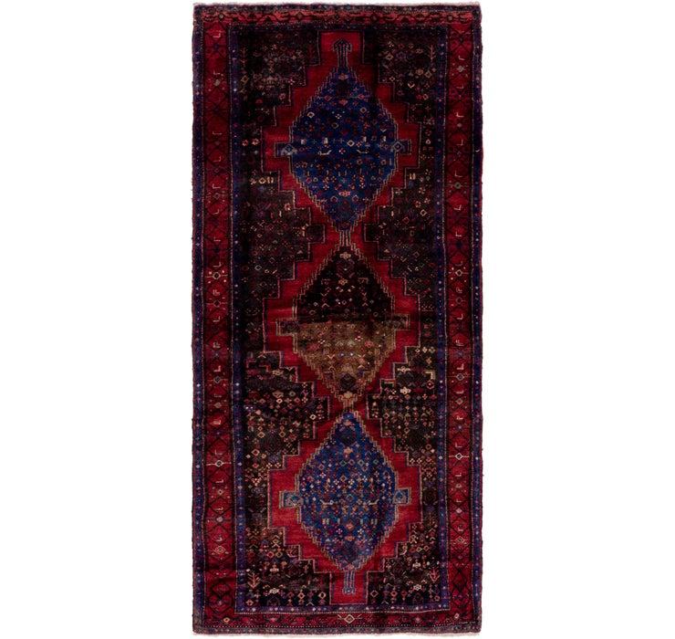 4' x 9' 10 Senneh Persian Runner Rug
