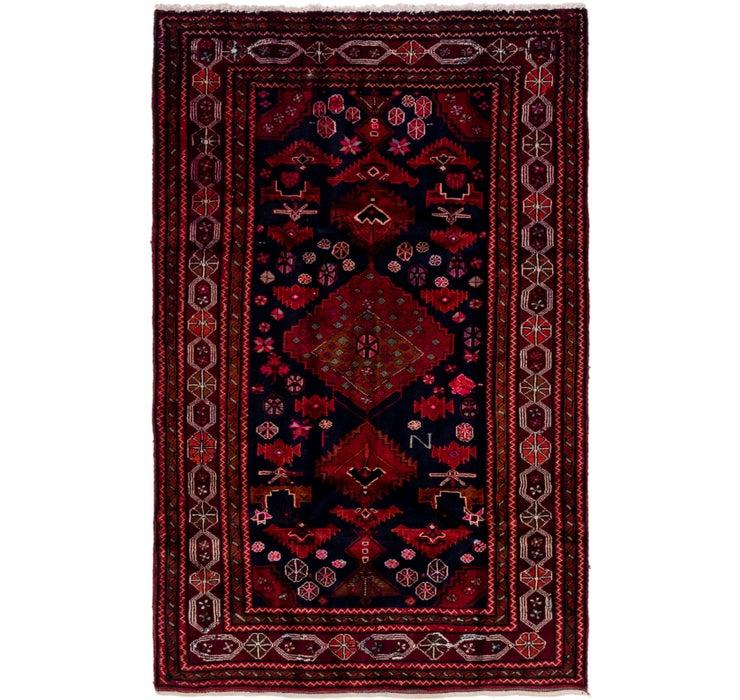 5' x 7' 10 Meshkin Persian Rug