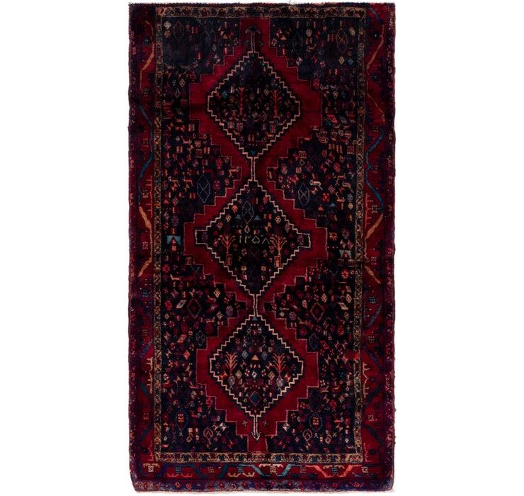 127cm x 235cm Hamedan Persian Rug