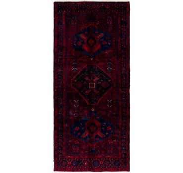 Image of 3' 10 x 9' 3 Zanjan Persian Runner Rug