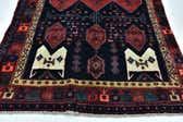 4' 4 x 11' 7 Sirjan Persian Runner Rug thumbnail