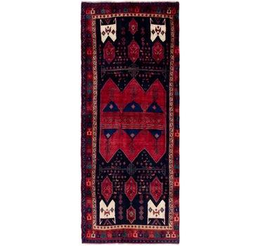 4' 4 x 11' 7 Sirjan Persian Runner Rug main image