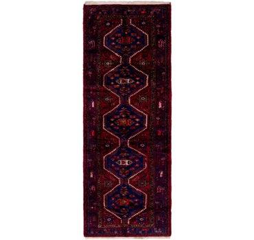 3' 6 x 10' 5 Hamedan Persian Runner Rug main image