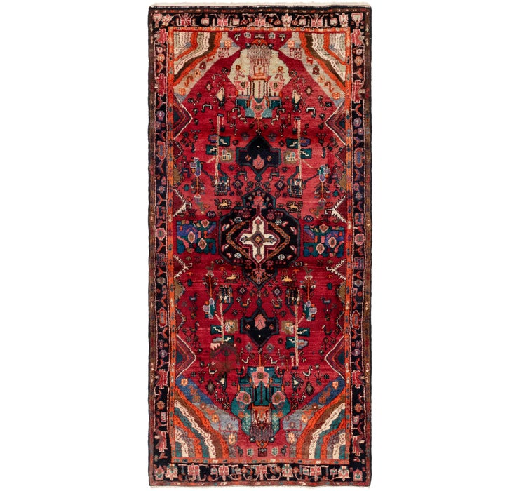 142cm x 320cm Gholtogh Persian Runner...