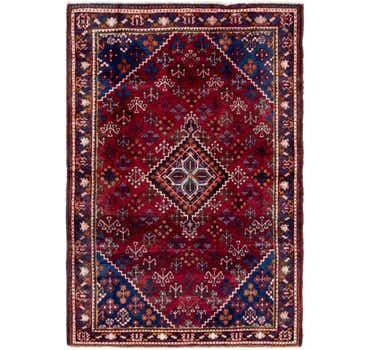 4' 4 x 6' 7 Maymeh Persian Rug