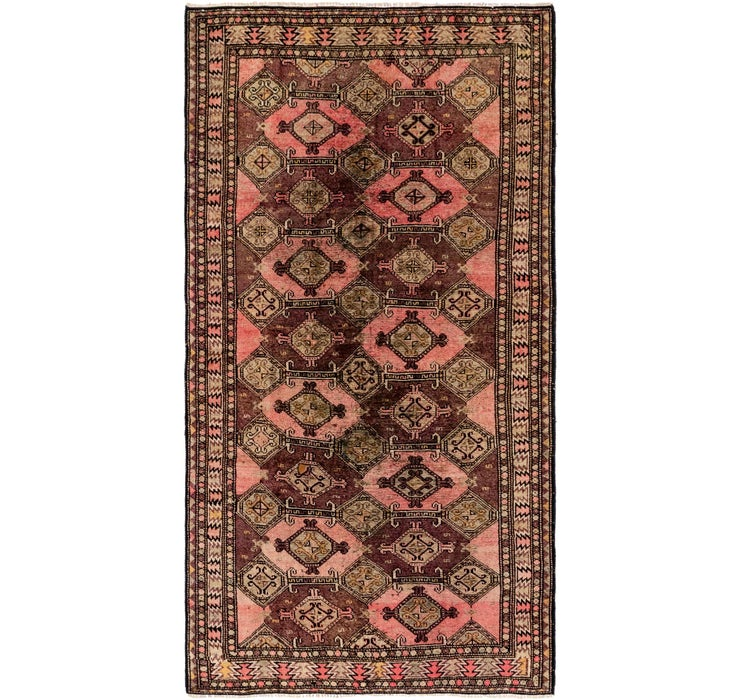 127cm x 250cm Shiraz Persian Runner Rug