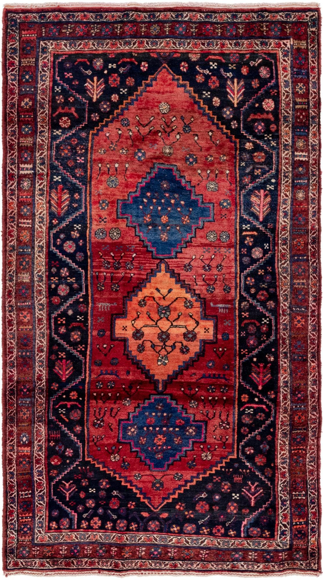 4' 6 x 8' 2 Gholtogh Persian Runner Rug main image