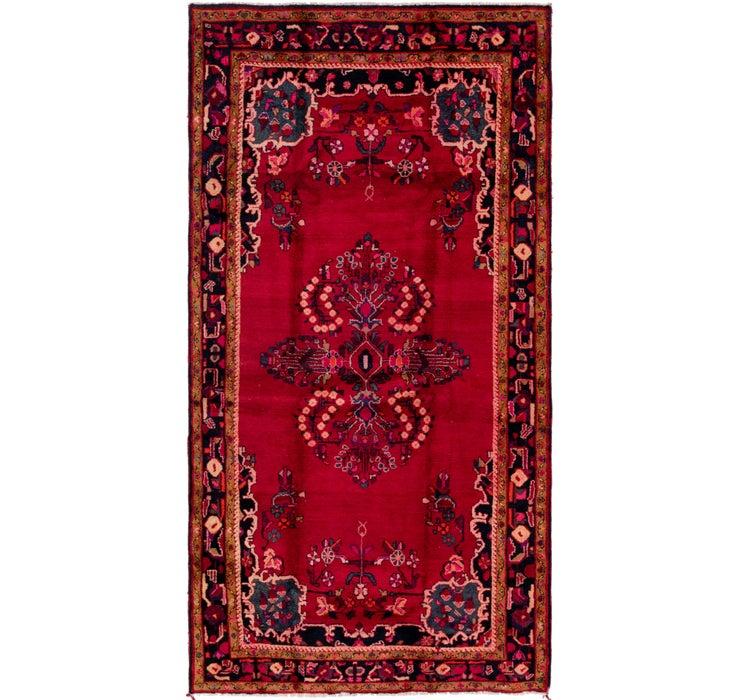 173cm x 330cm Hamedan Persian Rug