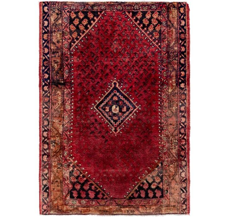 4' 2 x 6' 2 Farahan Persian Rug