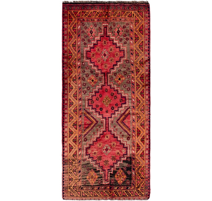 130cm x 292cm Shiraz Persian Runner Rug