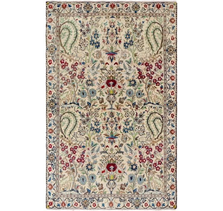 3' 9 x 6' Nain Persian Rug